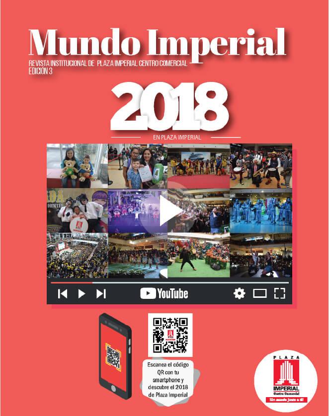 Portada Mundo Imperial Edición 3 | 01 de Julio 2018